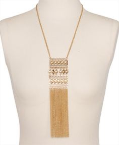 Fringed Coin Necklace | FOREVER21 - 1000043831