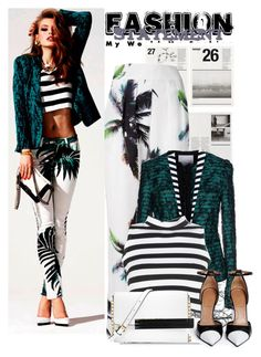 """Palm Trees"" by lidia-solymosi ❤ liked on Polyvore"