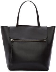 3.1 Phillip Lim - Black Leather Nova Tote