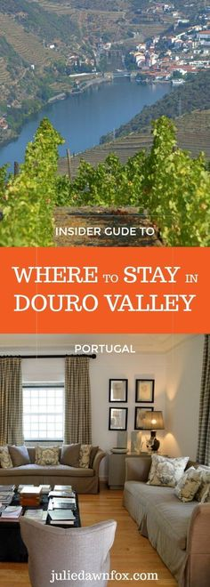Travel guide: Where to stay in Douro Valley, Portugal. Discover the best locations, wine hotels, luxury hotels and guesthouses in this beautiful wine region. #hotel #luxuryhotels #traveltips #travel #travelblogger #inspiration #douro #portugal #dourohotels