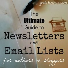 Learn the what, why, and how-to of newsletters and email lists for bloggers and authors--whether you are using MailChimp, Mad Mimi, Aweber, FeedBurner, or Jetpack!