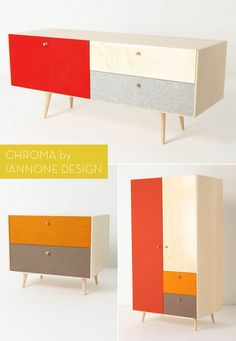 Chroma Collection by Iannone Design for Anthropologie.