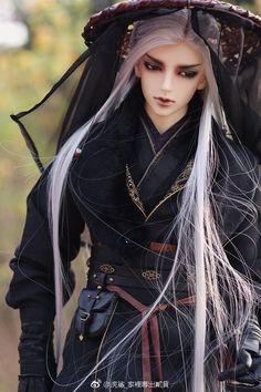 Shogun - One of a kind ball-jointed doll. Anime Dolls, Ooak Dolls, Barbie Dolls, Pretty Dolls, Beautiful Dolls, Chinese Dolls, Poppy Parker, Realistic Dolls, Asian Doll