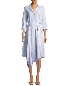 47a6d36384c42 Lafayette 148 New York Casimir Dominique Striped Dress