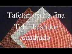 Trama fina: Telar cuadrado bastidor tejido para fibras delgadas tutorial... Lana, Logos, Youtube, Videos, Rugs, Weaving Looms, Mariana, Logo, Video Clip