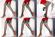 6 Pairs New Fashion Stockings Elegant Sexy Women Varieties Of Design Pantyhose #XingHong #Pantyhose