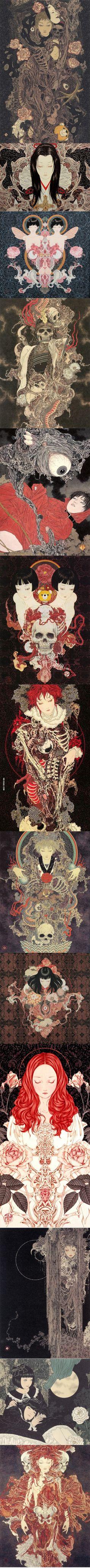Takato Yamamoto's awesome illustrations