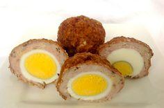 Paleo Scotch Eggs | ditchthecarbs.com