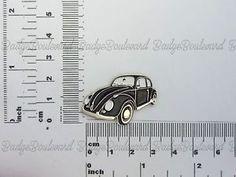 Badge Early Black Volkswagen Beetle Quality Metal Lapel Pin