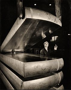Wolfgang Sievers Aluminium Ingots, Comalco, Yennora, NSW 1965, Wolfgang Sievers Albert Renger Patzsch, Margaret Bourke White, Lewis Hine, Industrial Photography, Outsider Art, South Wales, Historical Photos, Fundraising, Wwii