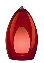 Fire Pendant - Red TECH Lighting