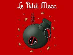 Le Petit Merc T-Shirt - Deadpool T-Shirt is $17 at TeeFury!