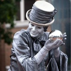 Magical Living Statues - Street Entertainers for hire - Bristol - AliveNetwork.com £450