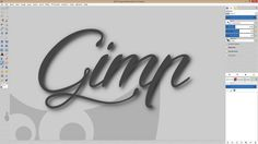 How to set up your work space in Gimp 2.8.10 - YouTube