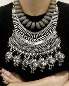 DIY statement necklace #Fashiolista #Inspiration