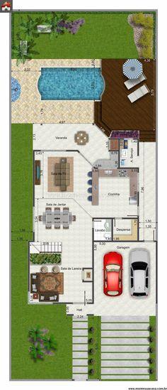 Bungalow de luxe Architecture, House and Bungalow - simulation maison a construire