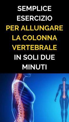 Semplice esercizio per allungare la colonna vertebrale in soli due minuti - Rimedi Naturali