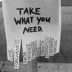 I like this.  Take whatever it is you need.  And feel free to comment with whatever it is you would take. Have a great day and do epic shit.