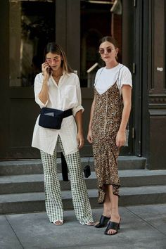 Slip Dress / Street style fashion / fashion week #fashionweek #fashion #womensfashion #streetstyle #ootd #style / Pinterest: @fromluxewithlove