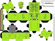 Cubee - Troll by CyberDrone.deviantart.com on @deviantART