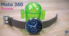 Heel gaaf, de Motorola Moto 360 smartwatch!