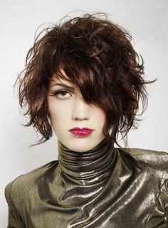 Glossy Flawless Casual Short Wavy Hairstyle Real Human Hair Wig about 10 Inches Grab unbeatable discounts up to Off at Wigsbuy using Coupon and Promo Codes. Haircuts For Curly Hair, Short Wavy Hair, Wig Hairstyles, Layered Hairstyles, Messy Hairstyle, Pixie Haircuts, Long Curly, Thin Hair, Hairstyle Ideas