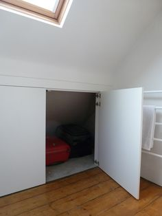 Attic Room Storage eaves storage | welcome to michael halewood | personally designed