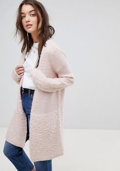 This knit coatigan is soft, versatile, + pretty all over!