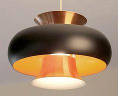 Vintage Carl Thore Danish Modern Pendant Light Lamp Mid Century Fog Morup 60s | eBay