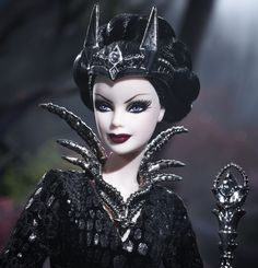 Barbie queen of the dark forest