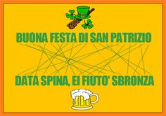 Buon San Patrizio con l'anagramma del giorno :-)
