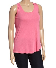 Another great find on #zulily! Pink Swing Tank - Plus #zulilyfinds