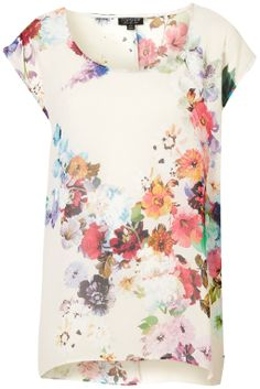 Floral Oversized Tee - Top Shop $72.00