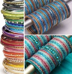 In India and Pakistan, bangles or Churiyan have become very popular. With the increasing fashion trends, now they are available in various designs and forms and no longer just made in a circular shape with glass. Bangles are made from a range of materials and can be found in many shapes such as round, rectangular or square. #pakistanifashiontrends #fashiontrends #fashionupdates #fashionnews #newstrends http://www.fashioncentral.pk/beauty-style/