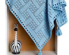 CROCHET PATTERN Dream Catcher Baby Boys Girls Adult Blanket/Throw Ebook Crochet Pattern in PDF format