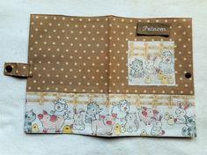 Cadeau Naissance Baby Shower Protège Carnet Santé Bébé Enfant Animaux de la Ferme POis Prénom Brodé