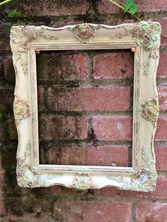 Ornate Vintage Olive Frame with Chalkboard