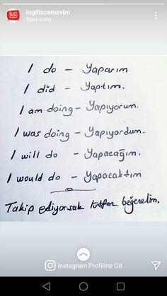 Learn Turkish Language, Arabic Language, Learn A New Language, Language Study, Language Lessons, German English, English Day, Turkish Lessons, Learn English Words