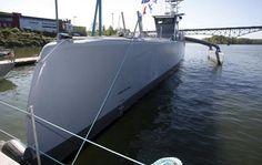 EEUU prueba barco autónoma capaz de cruzar oceanos