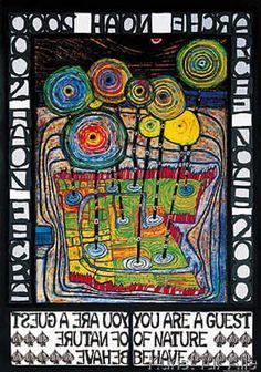 Friedensreich Hundertwasser - Arche Noah