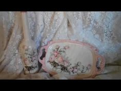 I'll show you the tips to avoid wrinkles when you're using napkins or serviettes to decoupage. I'll give you 3 examples. We'll work on a curved surface, a fl. Kirigami, Mosaic, Tray, Throw Pillows, Projects, Mixed Media, Napkins, Vintage, Decoupage On Wood