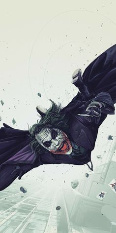Joker Kunst, Batman Kunst, Batman Art, Batman The Dark Knight, The Dark Knight Trilogy, Personnage Dc Comics, Joker 2008, Heath Ledger Joker, Univers Dc