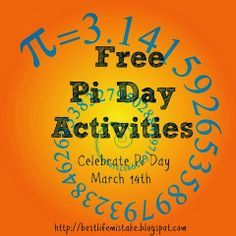 Some of the Best Things in Life are Mistakes: Free Pi Day Activities Math Teacher, Math Classroom, Teaching Math, Classroom Ideas, Teacher Stuff, Teaching Ideas, Classroom Solutions, Flipped Classroom, Math Resources