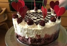 Feketeerdős torta sütés nélkül Chicken Curry, Atkins, Tapas, Cake, Food, Peanut Butter, Best Cheesecake, Foods, Food Cakes