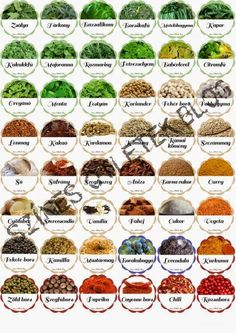 Címkék a befőzéshez - INGYENESEN LETÖLTHETŐ Spice Jar Labels, Spice Jars, Pinch Of Spice, Home Grown Vegetables, Pots, Mini Things, Medicinal Herbs, Flower Frame, Herbal Medicine