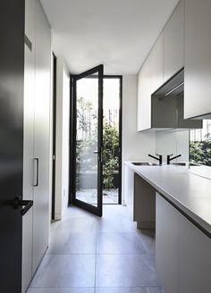 Home Design Inspiration Kitchen Open Concept 21 Ideas For 2019 Laundry Doors, Laundry Chute, Laundry In Bathroom, Small Laundry, Laundry Closet, Laundry Tips, Laundry Storage, Laundry Cupboard, Laundry Cabinets