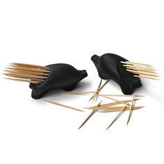 """PickUrPine"" porcupine toothpick holder ~lol"