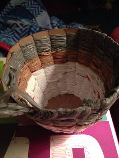 Picture of Recycled woven basket
