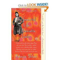 The Immortal Life of Henrietta Lacks: Rebecca Skloot: 9781400052189: Amazon.com: Books
