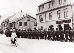 Tyske tropper inntok Kongsberg - Nyheter - Laagendalsposten